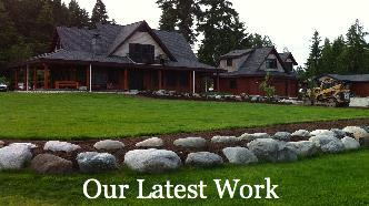 Click here to see our latest landscaping and driveway construction project