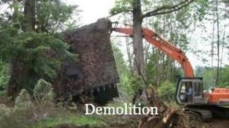 Caravan Pacific can help with your demolition project.  As a premier excavating contractor, we can demolish big or small buildings, safely and cost effectively..