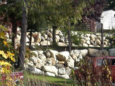 Caravan Pacific builds rock walls and whatever else a customer needs for their landscaping project.
